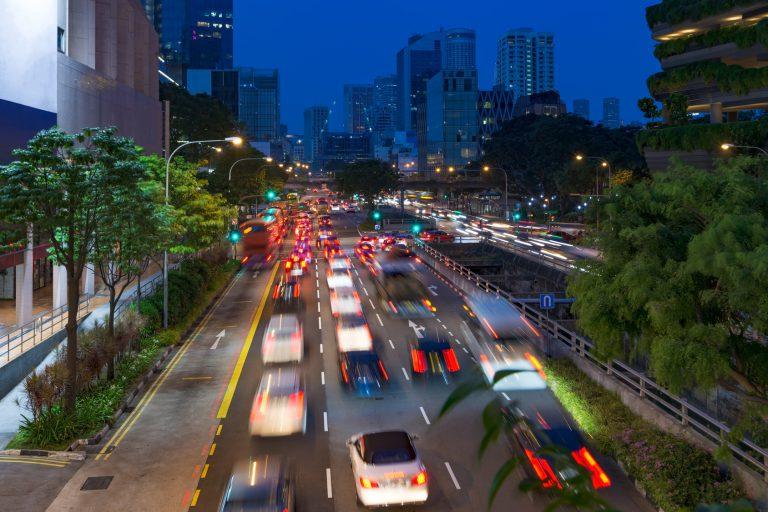 人口密度の狭いシンガポールでの調査
